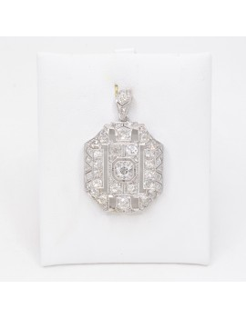 PENDANT ANTIQUE PLATINUM...