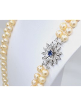 CULTURE PEARL NECKLACE FROM...