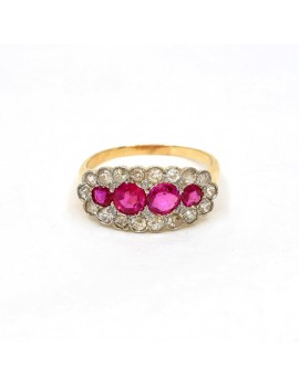 RING ANTIQUE 18K GOLD,...