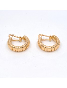EARRINGS IN ROSE GOLD