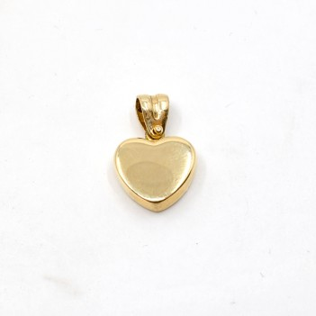 18K HEART SHAPED PENDANT