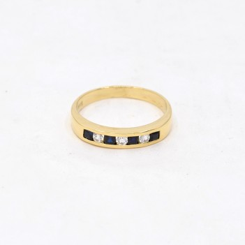 RING IN 18K YELLOW GOLD,...