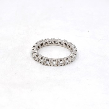 RING IN 18 K WHITE GOLD AND...