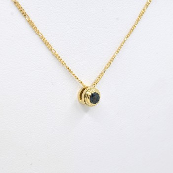 PENDANT IN 18K GOLD WITH...