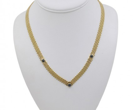 NECKLACE IN 18K GOLD and...