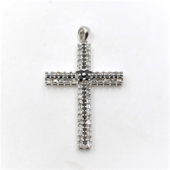 CROSS IN 18K GOLD  WITH...
