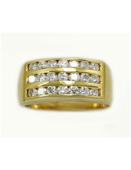 18K YELLOW GOLD WITH DIAMONDS