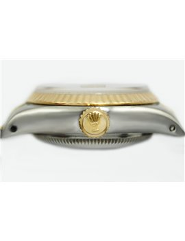 ROLEX DATE JUST STEEL AND GOLD FOR LADY REF-69173