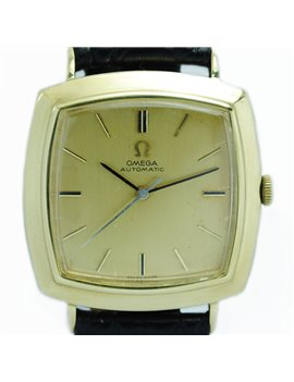 18K GOLD OMEGA WATCH