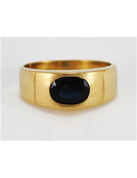 18K YELLOW GOLD WITH SAPPHIRE