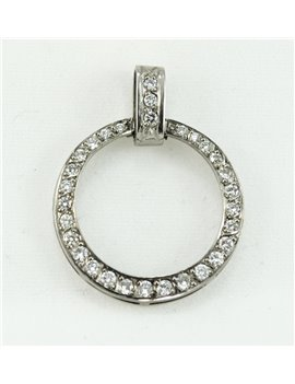 18K GOLD WITH DIAMONDS PENDANT