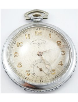 INVICTA WATCH OLD SILVER AND GOLD