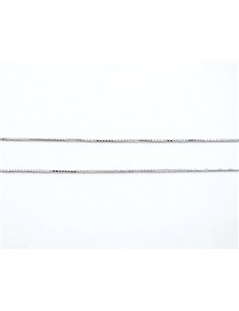 18K WHITE GOLD VENECIANA CHAIN