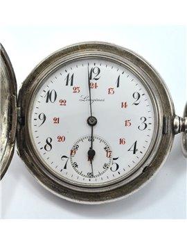 CLOCK LONGINES POCKET, SILVER 2334457