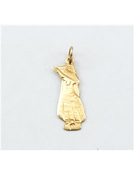 GIRL PENDANT IN 18K GOLD