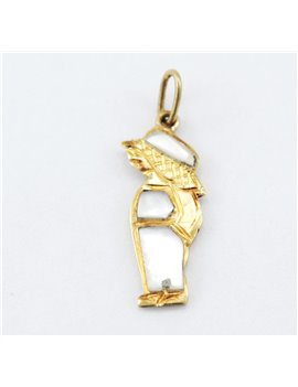 BOY PENDANT IN 18K GOLD