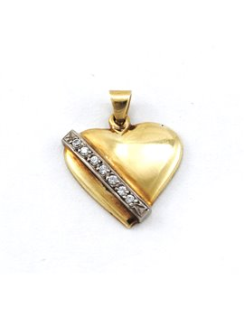 HEART PENDANT 18K GOLD