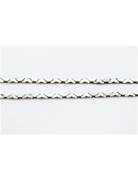 HEART SILVER CHAIN ??LINK