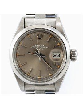 ROLEX DATE DAMA ACERO AÑO 1981 REF. 6916
