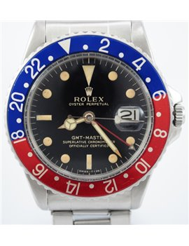 ROLEX GMT REF 1675 AÑO 1963 ACERO INOXIDABLE