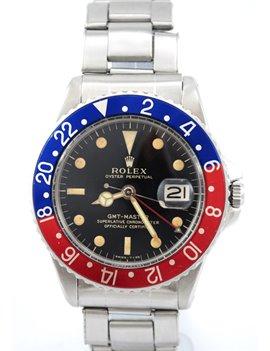 ROLEX GMT REF 1675 AÑO 1963 ACERO INOXIDABLE