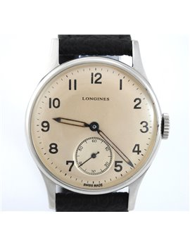 VINTAGE LONGINES MANUAL STEEL REF. 23308 CALIBER 12.687 WATCH