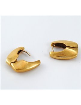 18K GOLD WITH DIAMONDS EARRINGS