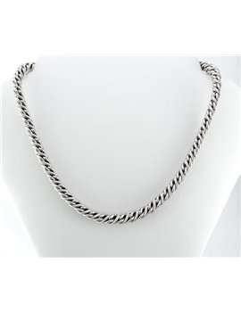 18K WHITE GOLD CHAIN