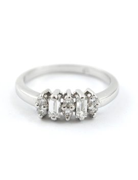PLATINUM AND DIAMONDS RING