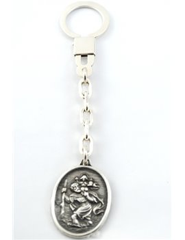 900 SILVER KEY WITH IMAGE