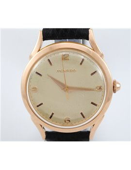 VINTAGE MOVADO PINK GOLD 18K CALIBER 127 WATCH