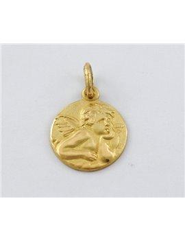 18K GOLD RELIGIOUS MEDAL