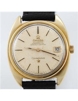 OMEGA CONSTELLATION AUTOMATIC PLATED IN GOLD REF 168.017