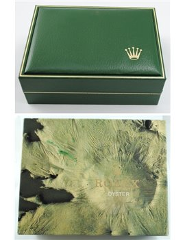 LADY ROLEX DATE STEEL AND GOLD REF. 69173 YEAR 1985 BOX AND PAPERS