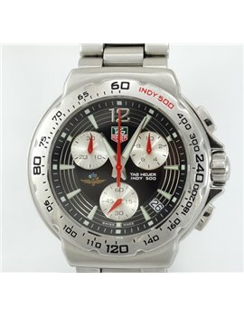 TAG HEUER INDY 500 CHRONOGRAPH 42 MM. QUARTZ WATCH WITH WARRANTY