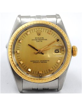 ROLEX VINTAGE DATE 1505 YEAR 1977 STEEL AND GOLD