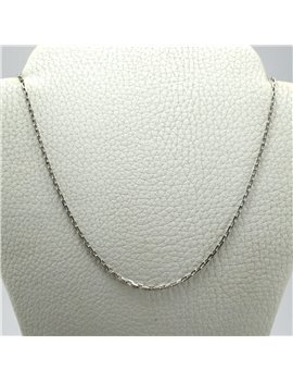 Chain Gold 18 K White,  Forcet 40cm long
