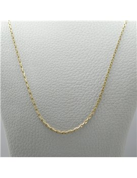 CHAIN GOLD 18 K WHITE.