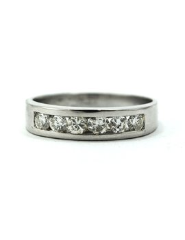 RING in 18K White Gold with 6 brilliants