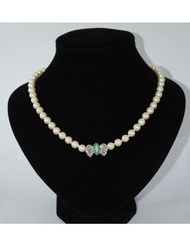 CROP PEARL NECKLACE 1...