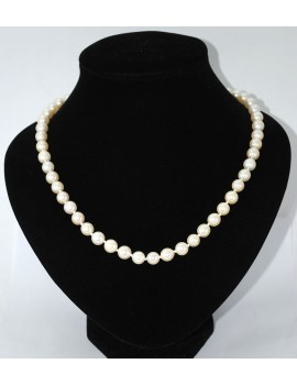 CROP PEARL NECKLACE 1 WIRE,...