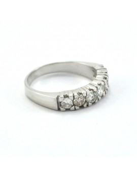 18k white gold and...
