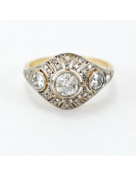 Antique 18k gold and...