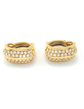 18k Gold and diamonds Caravans