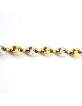 BRACELET IN YELLOW GOLD AND...