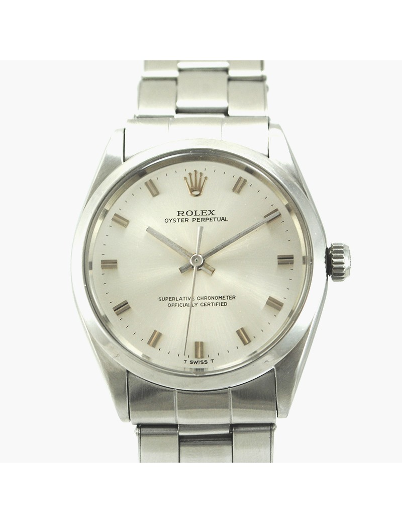 BEAUTIFUL VINTAGE ROLEX OYSTER PERPETUAL AUTOMATIC. REFERENCE 1002. YEAR  1967. CASE 34 MM STAINLESS STEEL . 0ac1f48616e